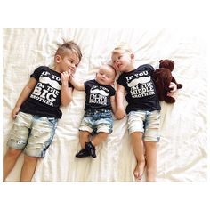 Hey, I found this really awesome Etsy listing at https://www.etsy.com/listing/183373254/big-middle-little-brother-shirts-three-3