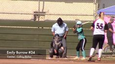 PGF Fast Pitch Softball Catcher Pop Fly Out: Strike Force Vs Power Surge...