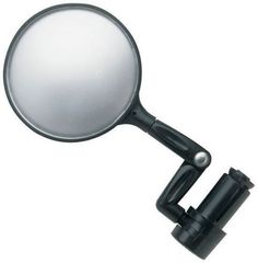 Bicycle/Mountain Bike Flexible Handlebar Rear View Mirror Flexible Bar End Round Mirror Large view convex mirror Universal Fitment Multi point adjustment OUR PRODUCT CODE: BA-RMIRROR