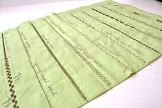 Stitch Identification - This sounds like a great educational exhibit for clothing construction in 4-H.