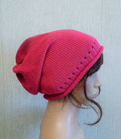 Hey, I found this really awesome Etsy listing at https://www.etsy.com/listing/245230204/knitted-womens-hat-hot-pink-knit-hat