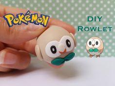 Pokémon Tsum Tsum Rowlet polymer clay tutorial
