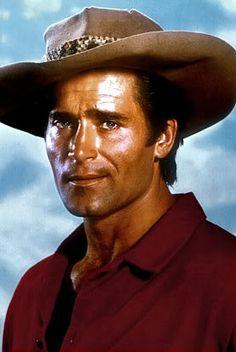 "Clint Walker of the TV Western Cheyenne.  ""Cheyenne, Cheyenne, where will you be sleeping tonight? Cheyenne. Cheyenne, Cheyenne may your heart stay free and wild, Cheyenne..."""