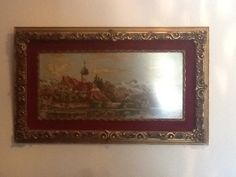Κεντιμένος πίνακας της Δήμητρας Μπούκλας