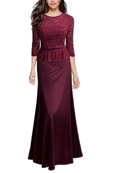 Party Lace Evening Dress – streettide