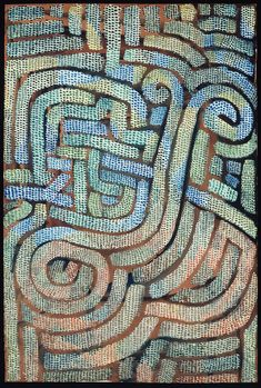 Mosaic-Like, 1932, by Paul Klee (1879–1940). Gouache on tan wove paper | The Art Institute of Chicago