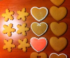 gingerbreads in process