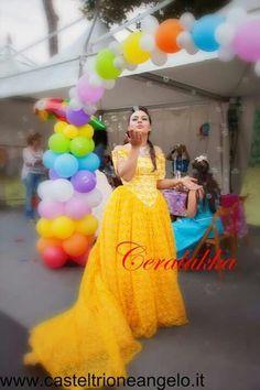Bella principessa versione CERALAKKA ART events America's Cup 2014