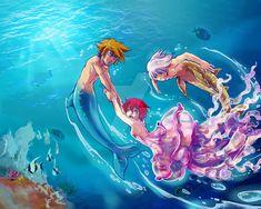 Under the sea by AmyHayaNora on DeviantArt