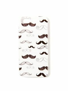 If You're Whimsical: Mustache Phone Case, $7.80; forever21.com