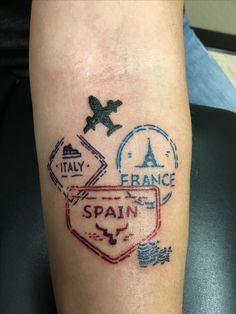 Travel tattoo has been started