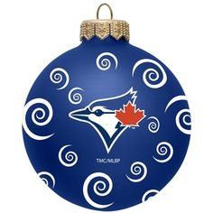 Purchase Swirl Ball Ornament by The Memory Company from Toronto Blue Jays. Kevin Pillar, Basketball Socks, Toronto Blue Jays, Ball Ornaments, Raptors, Baseball, Softball, Facts, Sports Teams