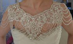Paris Crystal Bolero - Wedding Dress Bolero, Wedding Dress Accessories