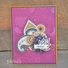 Cards with Stampin' Up!'s Petals & Paisley's Suite - Stampin' Dolce