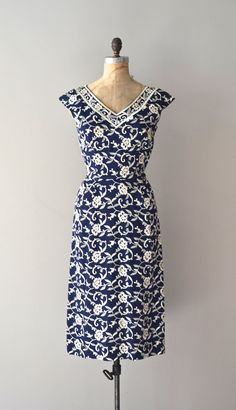 vintage 50s dress   Wellspring dress
