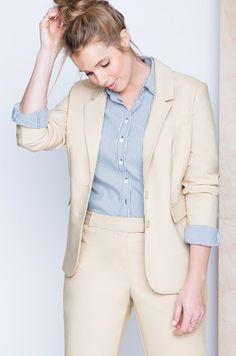 Luxe Doubleweave Sydney Fit Blazer | Women's Plus Size Jackets | ELOQUII