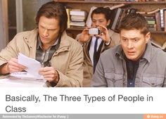 There are three types of people in class....