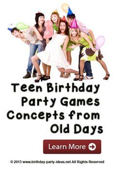 Teen Birthday Party