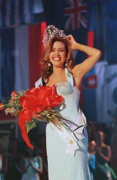 Miss Universo 1996. Alicia Machado, Miss Venezuela. MISS UNIVERSE ORGANIZATION/CORTESÍA