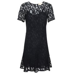 179fcee6d86 The delicate lace godet fabric on this chic Michael Kors dress creates a  stunning feminine look