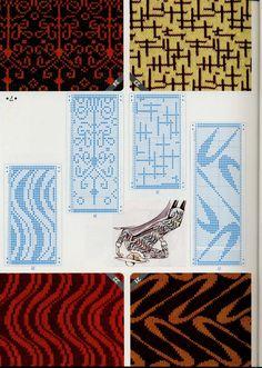 J&C Criacoes & Artes: cartelas trico a maquina