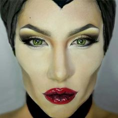 The secret to being Maleficent for Halloween is contouring