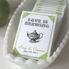 Tea Wedding Favour
