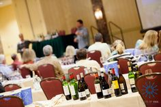 Wine, wine, wine and more wine! Taste of Vail Seminars at their best.