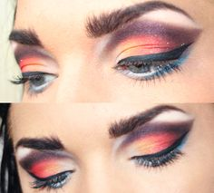 sunset eyes. I will do this one day!