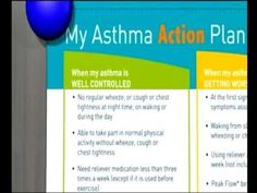 Creating An Asthma Action Plan  Mayo Clinic  Work