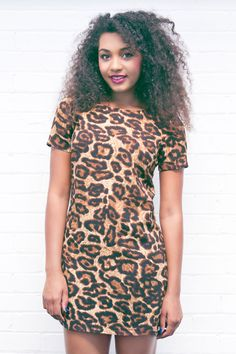 ** B R A N D N E W ** Unleash your wild side with our stunning Phoenix Leopard Print Shift Dress! Available now on our website for ONLY £26!! Shop now >> www.girlinmind.com/new/phoenix-brown