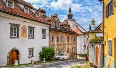 The Old Town of Ljubljana, Slovenia