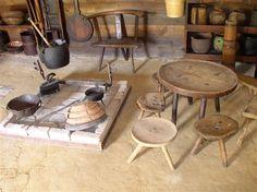 Lika, traditional kitchen tools among other things..Croatia