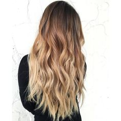 60 Best Ombre Hair Color Ideas for Blond, Brown, Red and Black Hair ❤ liked on Polyvore featuring hair