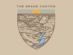 Illustration for Sevenly to help raise money for National Parks.
