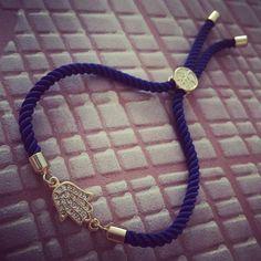 Modrý zirkónový náramok s hamsou MBZ020 Hamsa, Bracelets, Men, Jewelry, Fashion, Jewerly, Moda, Jewlery, Fashion Styles