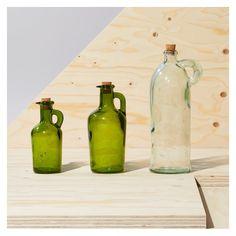 Cruet Bottle Green Large