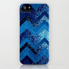 sparkly and dark blue adventure iPhone Case by Marianna Tankelevich - $35.00