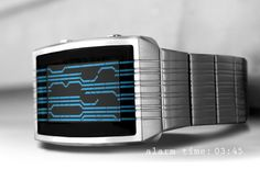 TokyoFlash Kisai Online Watch Uses an Accelerometer to Show the Time (video)
