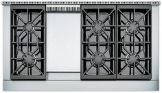 48 Stove Top | Rangetops | Sub-Zero & Wolf Appliances 6 Burners and a griddle.