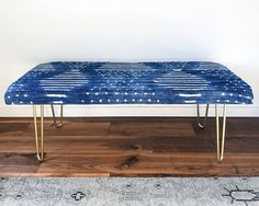 Create a bench that's just your style with this upholstery DIY from Honestly WTF.
