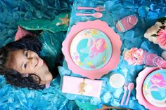 """"""" Under the Sea"""" Mermaid Party   CatchMyParty.com"""