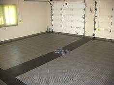 garage floors | Race Deck Tiles at Garage Werks: garage floor tiles, flooring, garage ...