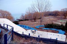 Abandoned water slide Jordan station, ontario