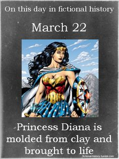 DC Comics (Source)Name: Diana Birthdate: March Wonder Woman Beste Comics, Superhero Facts, Important Dates, Young Justice, Dc Heroes, Fan Art, Marvel Dc Comics, Dc Universe, Batman Universe