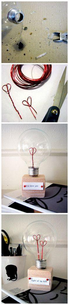 More light bulb crafts