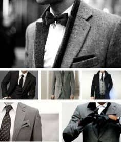 Suits, They're just incredibly sexy. And for that reason I want to shoot those once