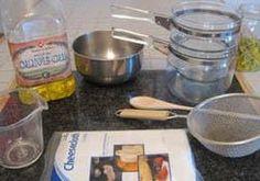 Making organic salves