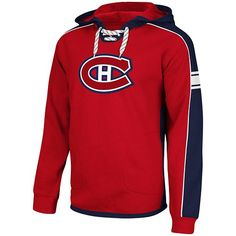 NHL Reebok Montreal Canadiens Faceoff NHL Team Jersey Pullover Hoodie - Red (XX-Large), Reebok Montreal Canadiens Faceoff NHL Team Jersey Pullover Hoodie - Red, Goods, & Special Use Montreal Canadiens, Hockey Teams, Red Hoodie, Nhl, Reebok, Motorcycle Jacket, Hoodies, Sports, Pullover