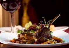 Gourmet Fine Dining at Home Lamb Recipes, Wine Recipes, Gourmet Recipes, Menu Leger, Napa Food, European Dishes, Lamb Ribs, Lamb Chops, Dinner Club